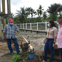 MINISTER RODRIGUES PROMISES TO EXPAND MORAIKOBAI WATER SYSTEM